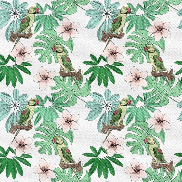Papuga W Kwiatach
