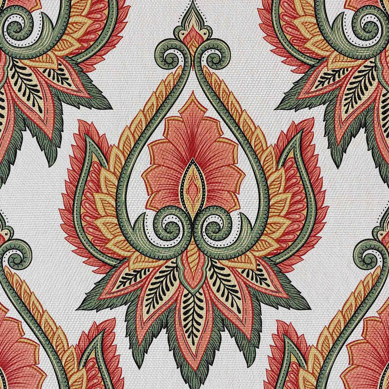 Materiał Kwiat Hinduski