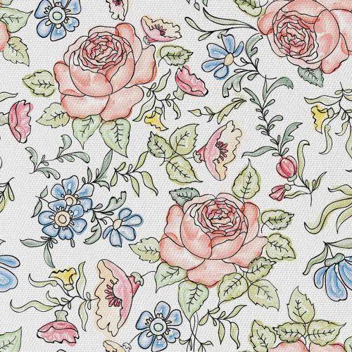 Rysunkowe Kwiaty