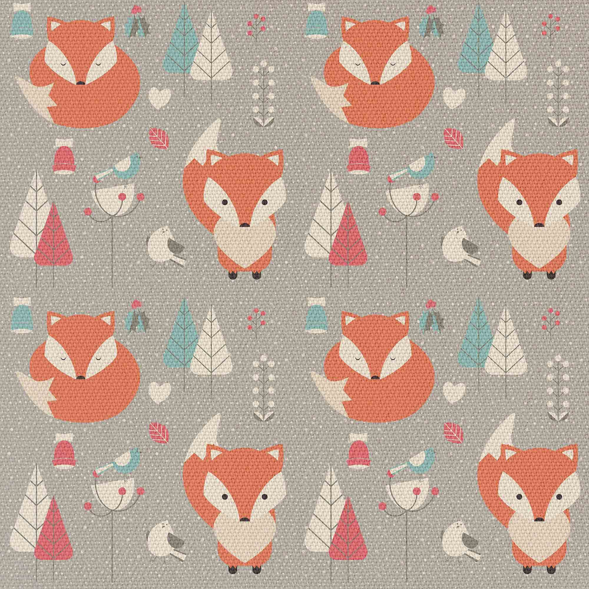 Forest Red Foxes
