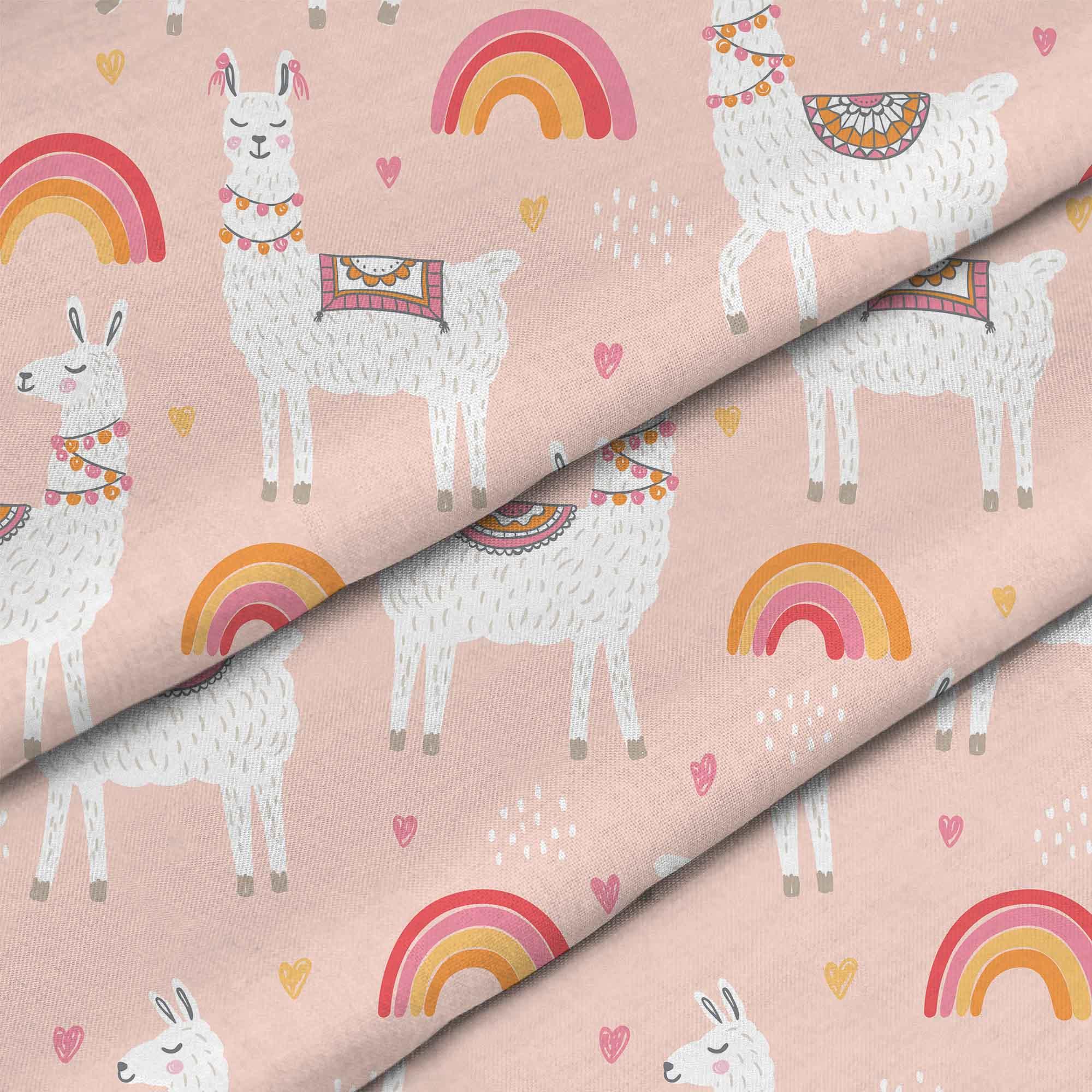 Lamas With Rainbows
