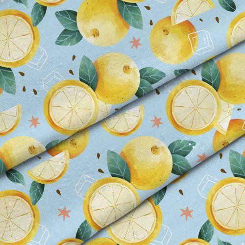 Watercolor Summer Lemons