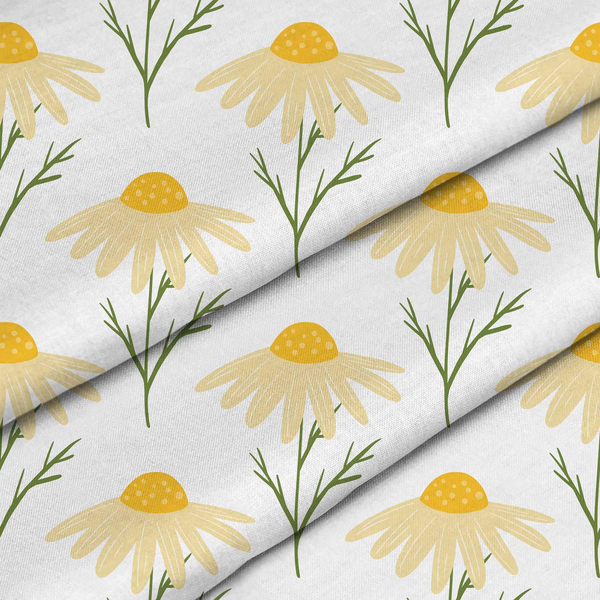 Yellow Cute Daisy Flowers