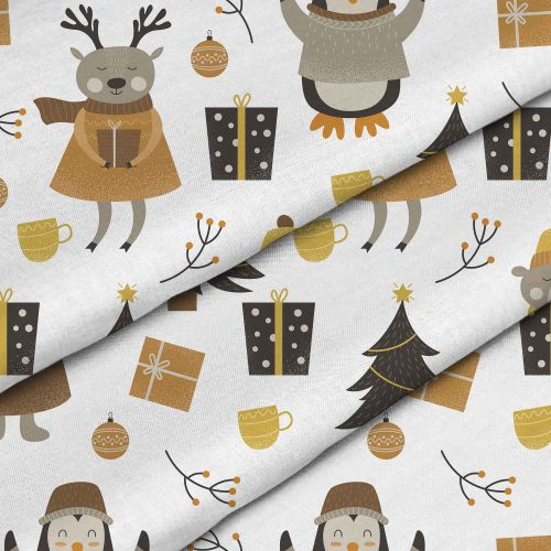 Christmas Forest Animals