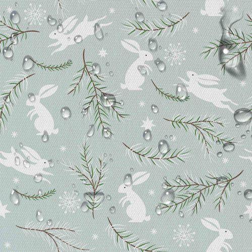 material-zimowe-zajaczki